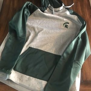 Nike Michigan State Pull Over XL